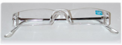 Picture of Half Eye Reading Glasses - Rimless