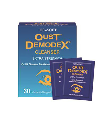 Picture of Oust Demodex Cleanser Pre-Moistened Pads 30Ct